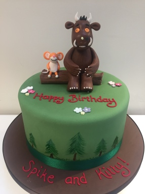 The Gruffalo Birthday Cake